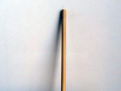 une paille seule en bambou