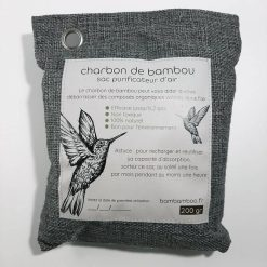 1 sac de charbon de bambou actif