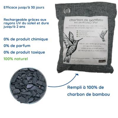explication charbon bambou
